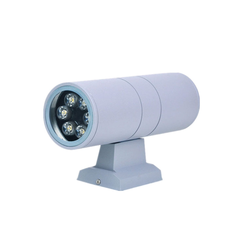 6w 65 260mm led outdoor wall light up and down lights 2 3w for Exterior up and down lights led