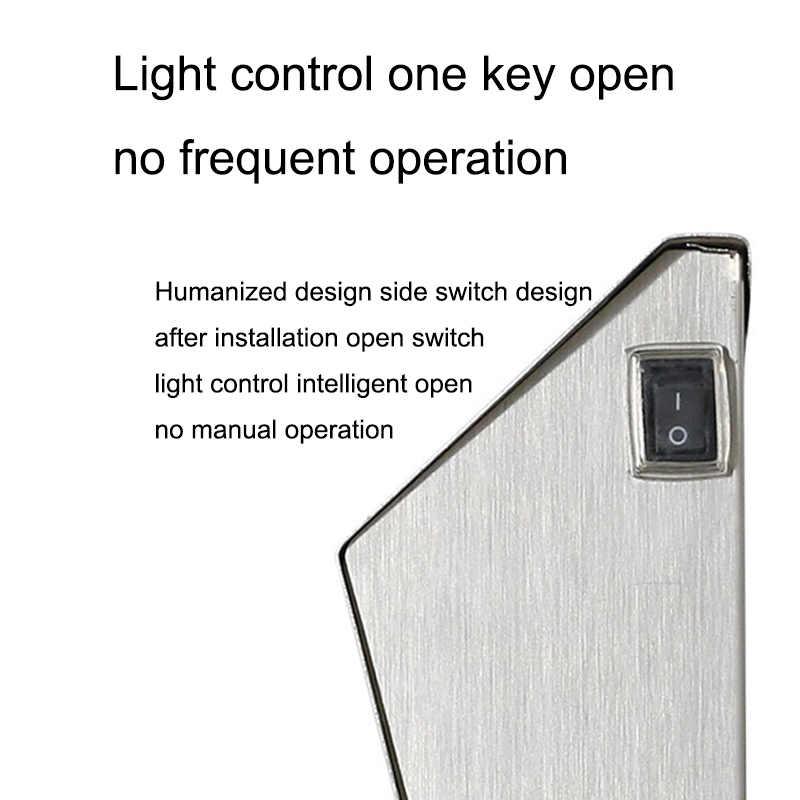 Солнечный свет 3 светодиода освещение дверная табличка настенный светильник наружный дом номера свет PAK55