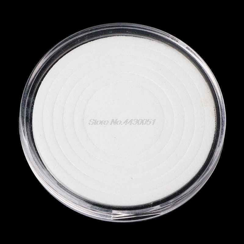 Caixa de Exibição Caixa De Armazenamento De Suporte de Plástico de Moeda Cápsula 46mm Com 5 Tamanhos Anéis Pad
