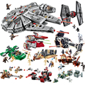 Star Wars Millennium Falcon Poe's X Wing Fighter Building Blocks 75102 75101 Legoings Star Wars Figures Bricks Model Toys Gift