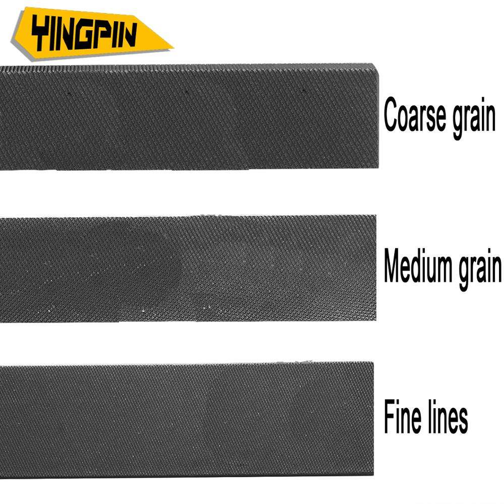 Petit fichier/rotatif fichier Grande plaque fichier pince en acier fichier Bois outil de meulage