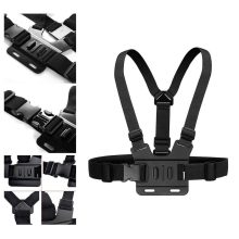 Chest Strap mount belt para Gopro hero 7 6 5 Xiaomi yi 4 K Action camera Chest Mount Harness para GoPro SJ4000 SJCAM esporte cam fix(China)