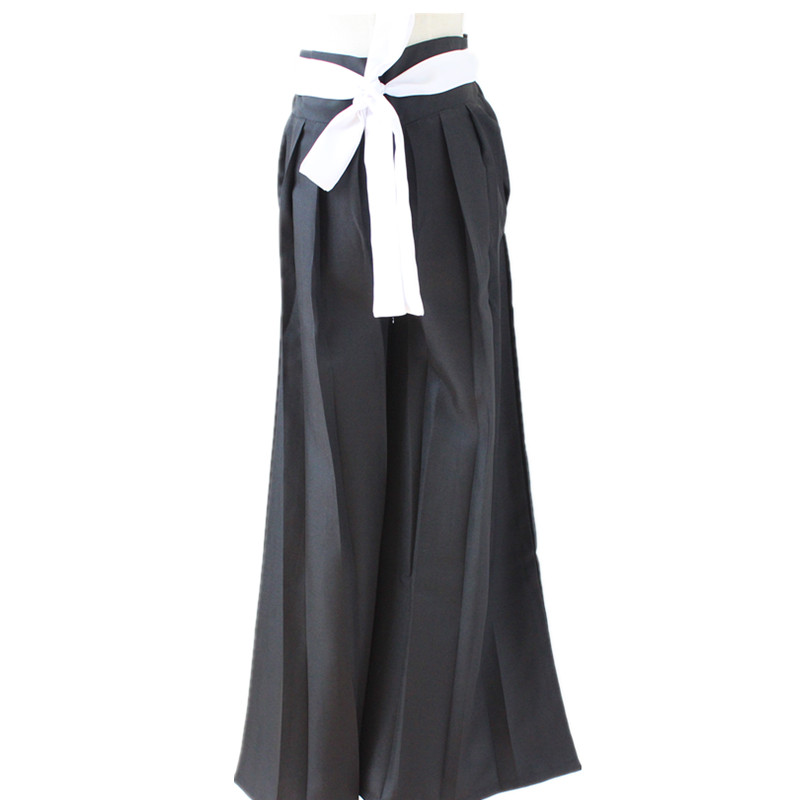 Bleach Cosplay Costume Black Trousers Cosplay Costume Uniform Outfit Anime Cosplay Costumes Halloween Carnival Party Cosplay