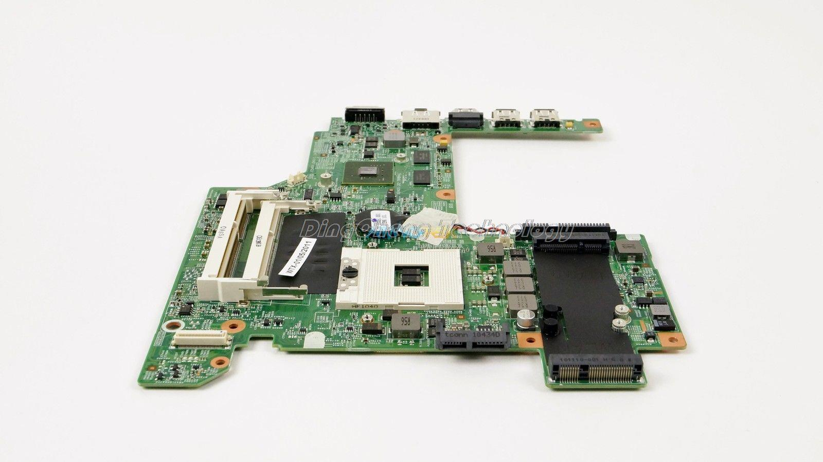 SHELI laptop Motherboard for dell v3400 02F7YN CN-02F7YN for intel cpu with 4 video chips non-integrated graphics card original laptop motherboard for hp dv6 511864 001 for intel cpu with non integrated graphics card 100% tested fully