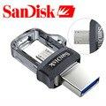 Sandisk 128 gb extrema sddd3 usb3.0 dupla otg usb flash drive alta Velocidade 150 M/S PenDrives 32 GB 16 GB Pen Drives de 64 GB de Memória vara