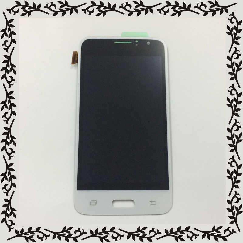 لسامسونج غالاكسي J1 2016 LCD J120 SM-J120F عرض J120M J120H J120G J120W/DS LCD محول الأرقام بشاشة تعمل بلمس الاستشعار الجمعية