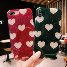 luxury cover for iphone 7 plus case xs max soft tpu 360 protect comfortable feel patterns of love anti-knock