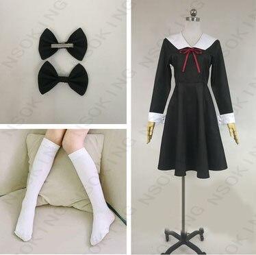 Anime Kaguya-sama: Love is War Fujiwara Chika Cosplay Costume Tailor Made