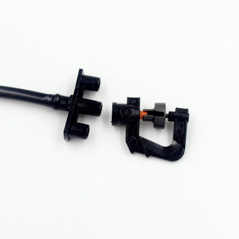 400pcs/pack Barbed Butterfly Base for Modular Sprinklers to Connect Sprinkler to Main Pipework or Suspended Stand T115