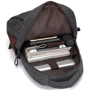 Image 5 - Men Canvas Laptop Backpacks Male College Students School Backpack Casual Rucksacks Women Mochila Large Travel Back Pack XA1937C
