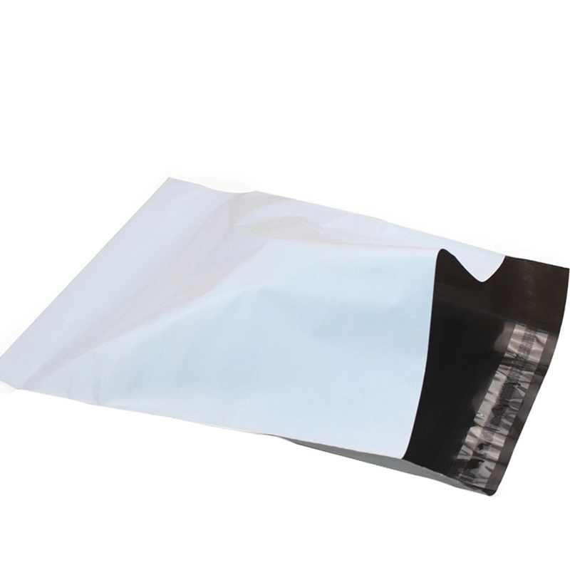 50pcs Lot High Quany 20x31 4cm White Self Seal Mailbags Plastic Envelope Courier Destructive Postal Mailing Bags Z080 In Gift Wring Supplies