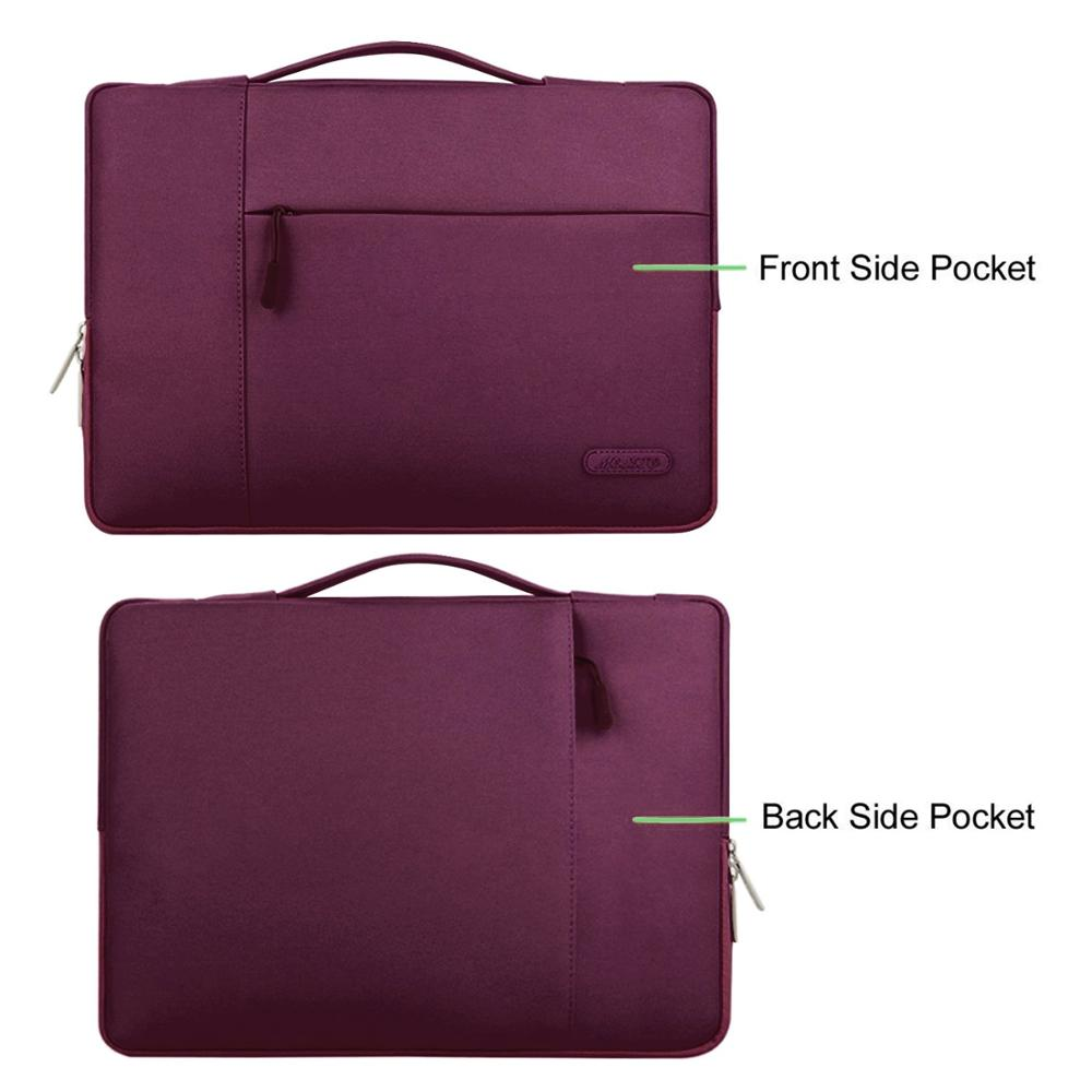 Image 5 - MOSISO Laptop Bag Case 11.6 12 13.3 14 15 15.6 Inch For Men Women Waterproof Notebook Bag For Macbook Air Pro 13 15 Laptop Case-in Laptop Bags & Cases from Computer & Office