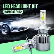 Car LED Headlights Bulb Fog Light For H1 H4 H7 H11 9005 9006 110W 20000LM Vehicle Auto COB LED Headlight Bulb Kit CSL2017
