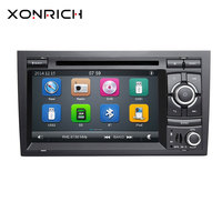 Xonrich Car Multimedia Player 2 Din for Audi A4 B6 B7 S4 B7 B6 RS4 2002 2008 RS4 B7 SEAT Exeo 2008 2012 Audio GPS DVD Head Unit
