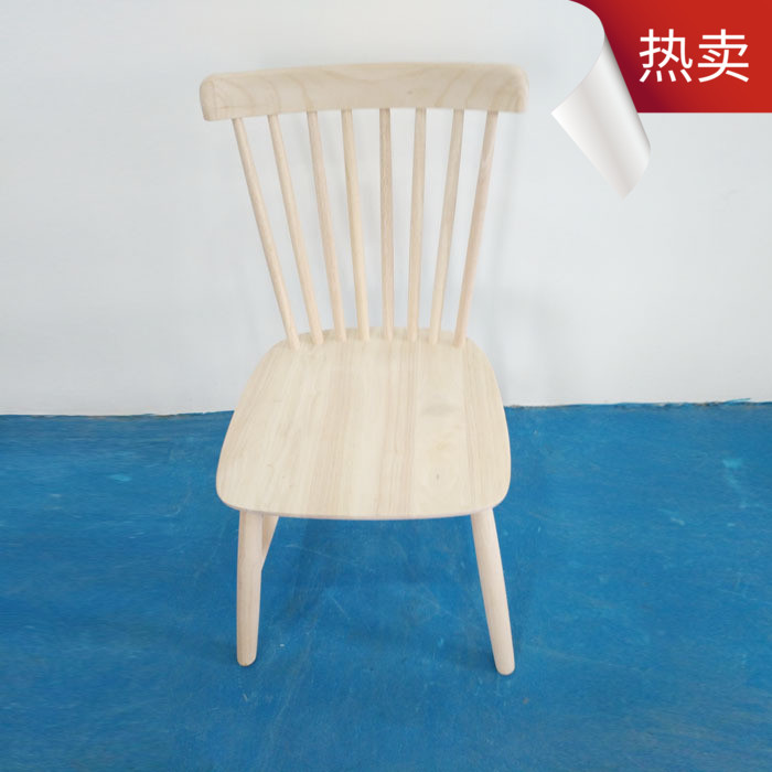 Nordic modern minimalist tofo no paint Rubber wood house restaurant cafe horn Windsor chair restaurant chairs furniture italian modern nordic chair home restaurant cafe hotel chair practical windsor chair the study chair