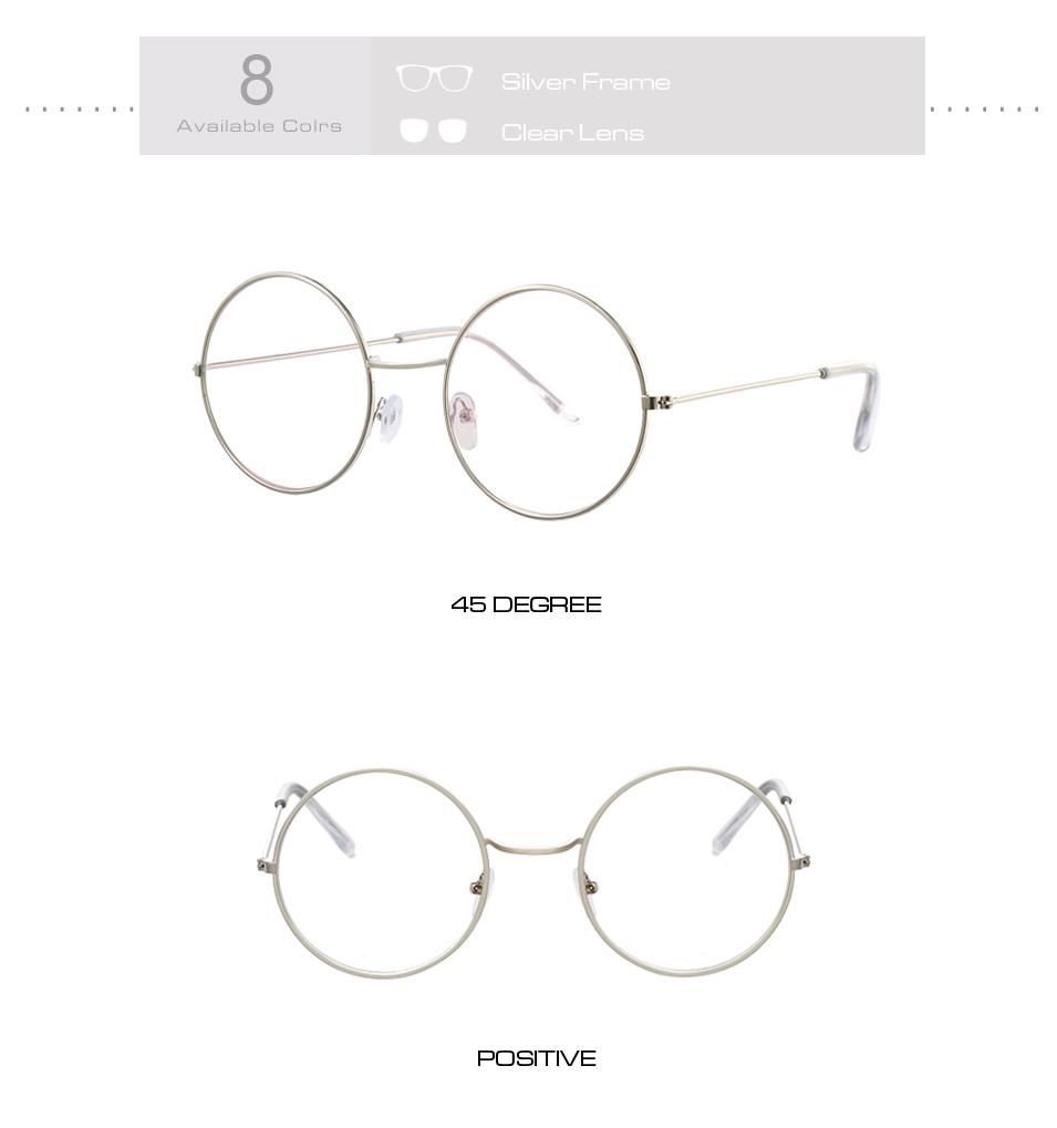 Women's Round Mirror Sunglasses 17
