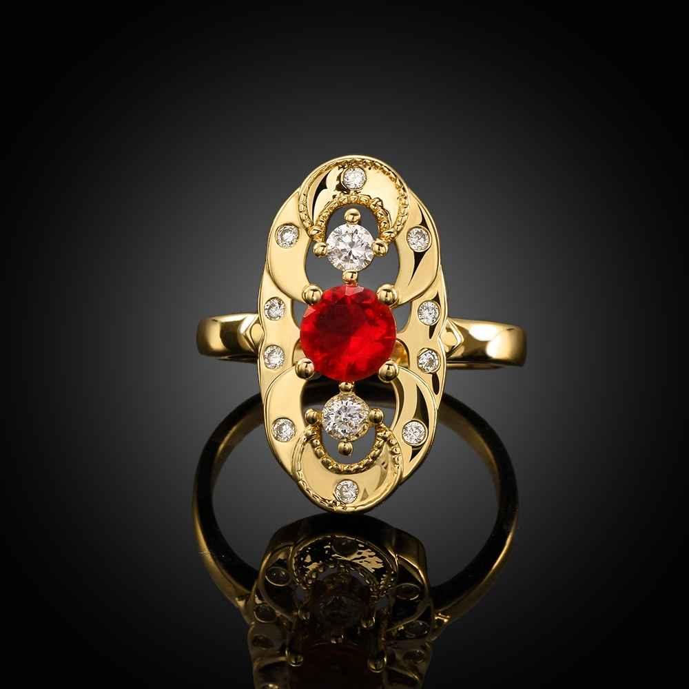 ᗔVenta caliente mejor regalo anillos de color oro para hombres ...