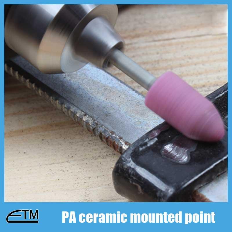50 piezas de cilindro de punta montada de óxido de aluminio rosa - Herramientas abrasivas - foto 6