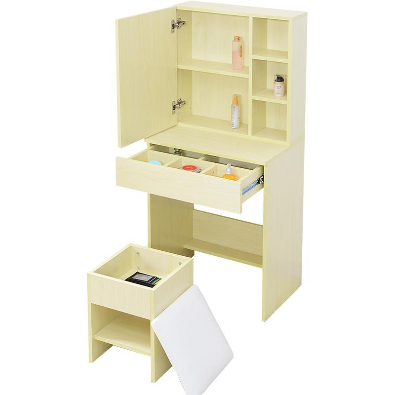 Dresser bedroom apartment mini piano simple modern dressing small make-up table cut the nordic modern minimalist dresser bedroom flip multi functional dressing small apartment mini make up table