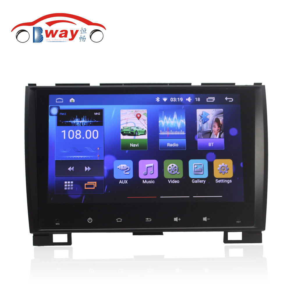 Bway 9 car radio for Greatwall Hover H5 android 6 0 1 car dvd player with