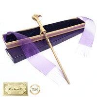 Волшебная палочка Волдеморт из металла/железа HP, волшебная палочка Гермионы, элегантная упаковочная лента, рождественский подарок для косп...