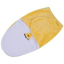 Пеленать вышитые конверт постельные новорожденного спальный wrap новорожденных принадлежности мягкий уход
