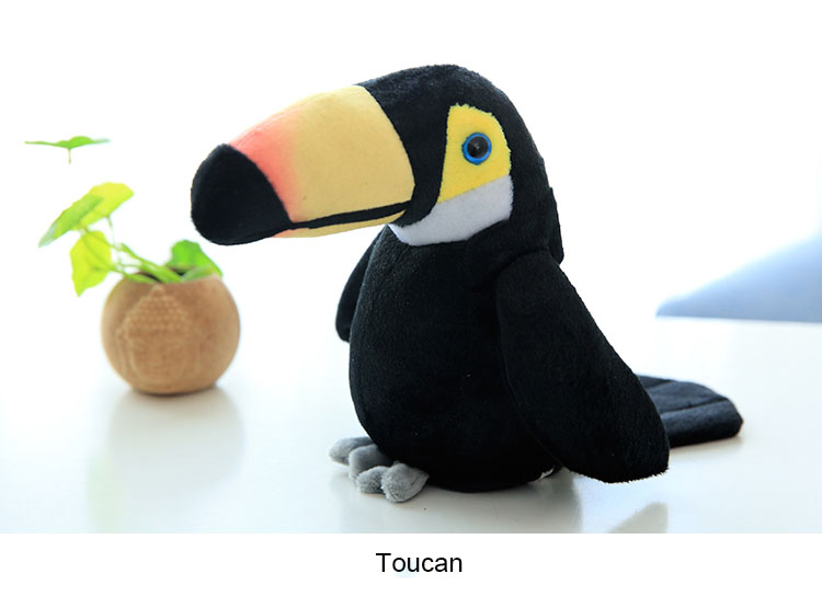 Talking Toucan Plush Toy