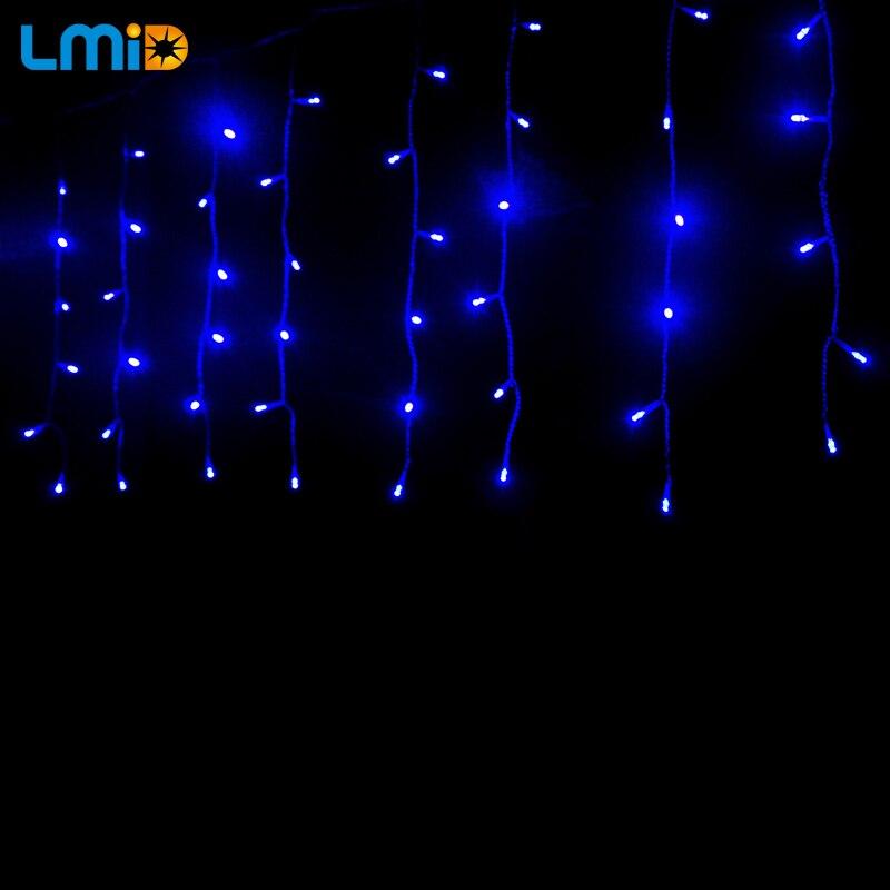 LMID EU US Рождестволық шырақтар 2M * 0.6M 60LEDs - Мерекелік жарықтандыру - фото 6