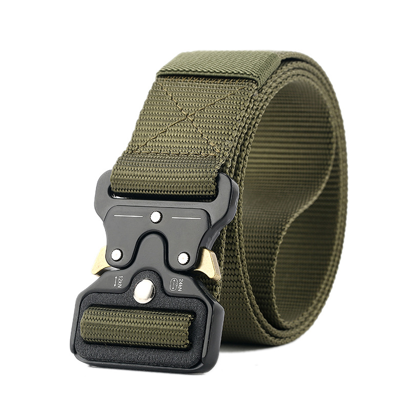 SWAT Military Equipment Knock Off Army Belt Men's Heavy Duty US Soldier Combat Tactical Belts Sturdy 100% Nylon Waistband Belt