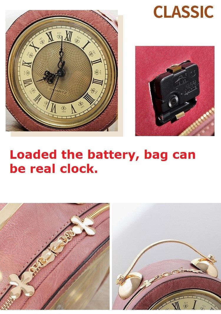 Relógio de Forma De Couro personalizado Da