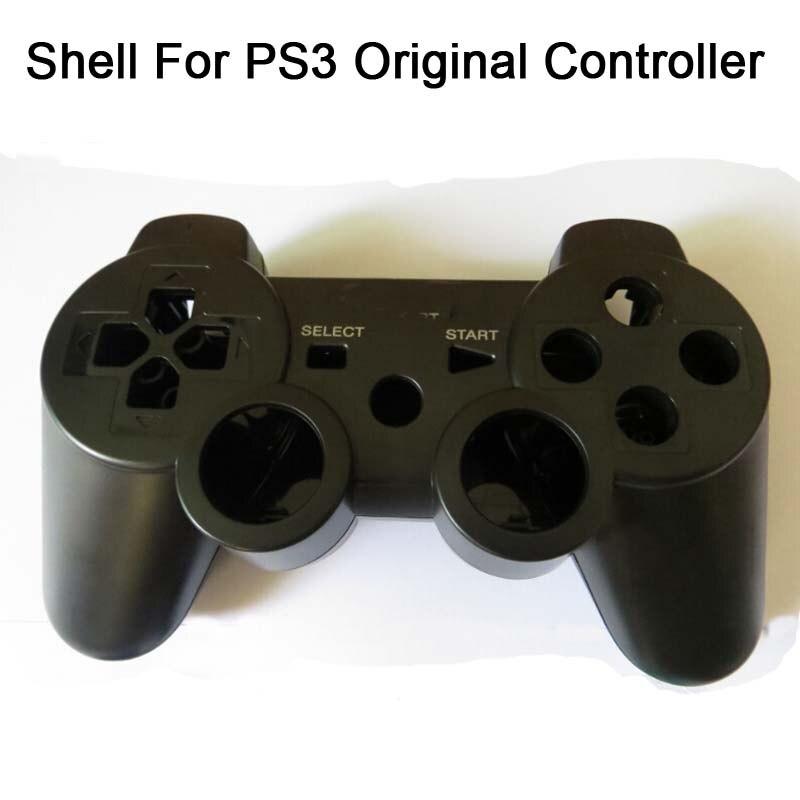 20 компл./лот Горячая замена корпус чехол для оригинальный PS3 беспроводной Bluetooth SIXAXIS контроллер в виде ракушки