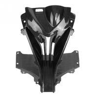 Motorcycle Carbon Fiber Front Head Nose Cowl Air Intake Fairing Covers for BMW S1000RR 15 18