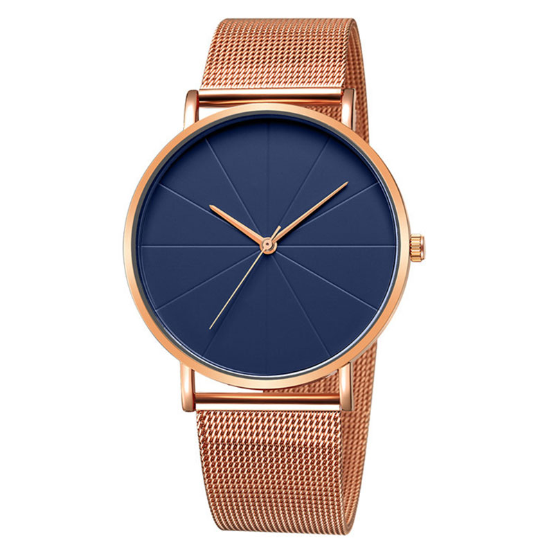 New Brand Design Line Luxury Women Watch Business High Quality Stainless Steel C