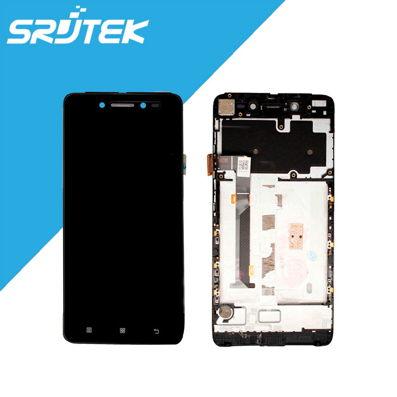 5.0 inch For Lenovo S90 LCD Display with Touch Screen Digitizer Panel Full Assembly with frame