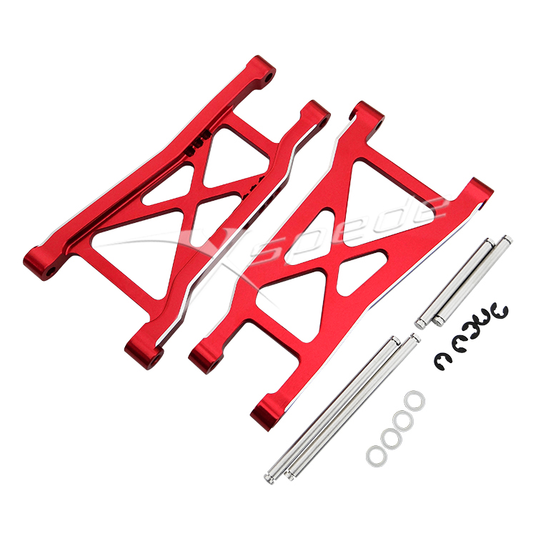 Xspede Aluminum Heavy Duty rear lower suspension arm for Traxxas Slash 2WD traxxas bandit 2wd 2 4ghz