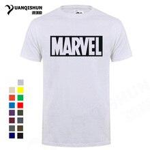 d94aa7060302 Boutique Männer T-shirt Mode Marvel T Shirt Männer Tops Tees 16 Farben  baumwolle kurzen