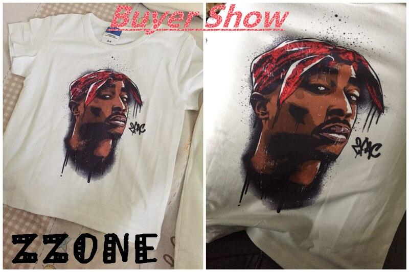 Uşaqlar Tupac 2pac Hip Hop Qaldırma Printli T-shirt Uşaq Körpə - Uşaq geyimləri - Fotoqrafiya 5