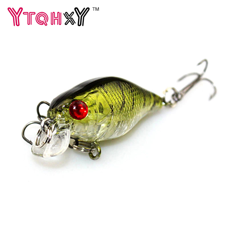 1PCS Flash ice fishing Lure pesca jig Artificial Hard Crankbait Wobblers 4cm 4.2g japan Mini fishing tackle YE-240Y