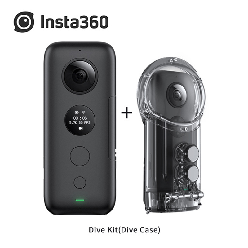 Insta360 ONE X 5 7K video quality 360 degree Camera Video Control time and perspective with