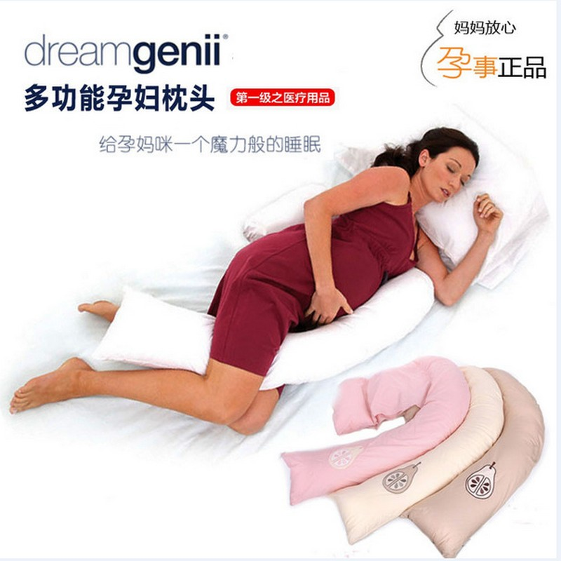ФОТО HOT Healthy pregnancy pillow multiple functions side Pregnant women support Baby Body Pillow DreamGenii Maternity Support Pillow