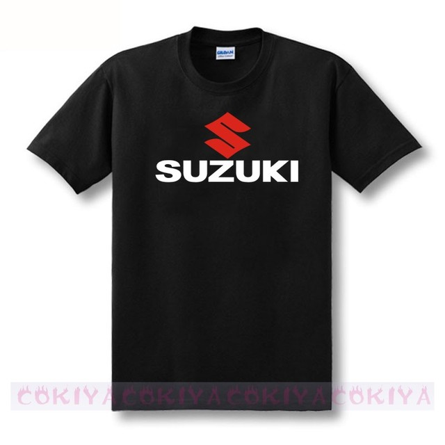 Suzuki Motorsport  Team Logo T-shirt Men 100% Cotton Short Sleeve Custom T shirt European Size S-XXXL Wholesale Retail