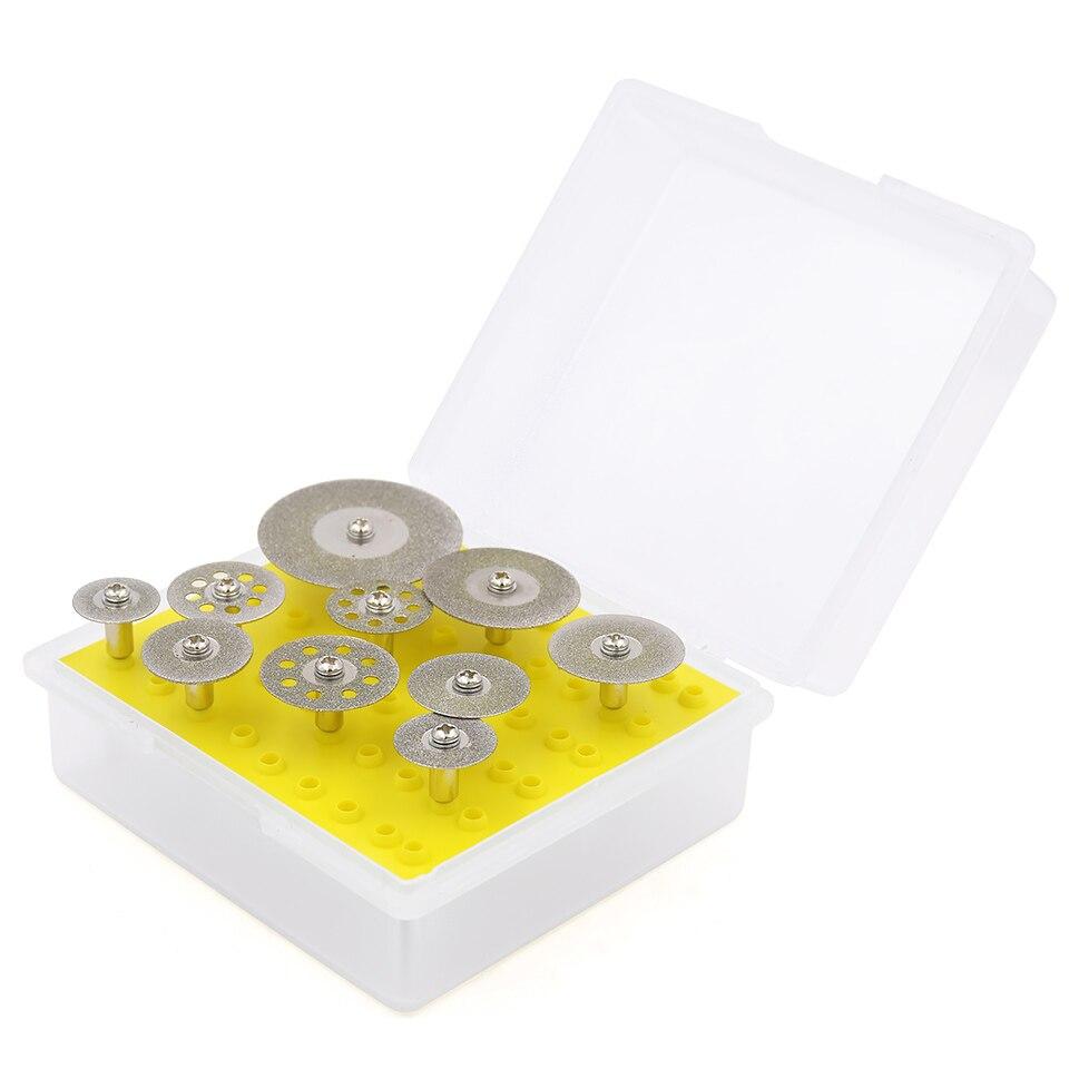 10pcs mola diamantata per Dremel lama per sega mini circolare sega - Lama per sega - Fotografia 2