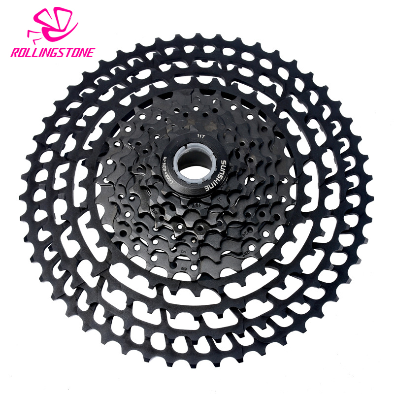 11-50T cassette 11 speed bicycle freewheel sprockets bike mountain bike freewheel sprocket mtb cog 50T cdg 363g hollow Al-alloy bicycle mtb freewheel 11 32t 36t 40t 42t 46t 50t sprockets 8 9 10 11 speed cassette mountain bike flywheel cog