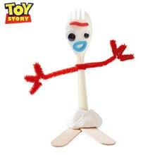 Disney Toy Story 4 Pixar forky DIY tenedor puzle leñador zumbido Lightyear silicona figura de acción juguetes para niños cumpleaños regalo