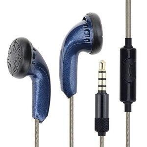 Image 5 - DIY HiFi Earphone 3.5mm In Ear Flat Head Earphones KMX500 Dynamic Hedaset Super Bass Earbuds for Xiaomi iPhone Smart Phones