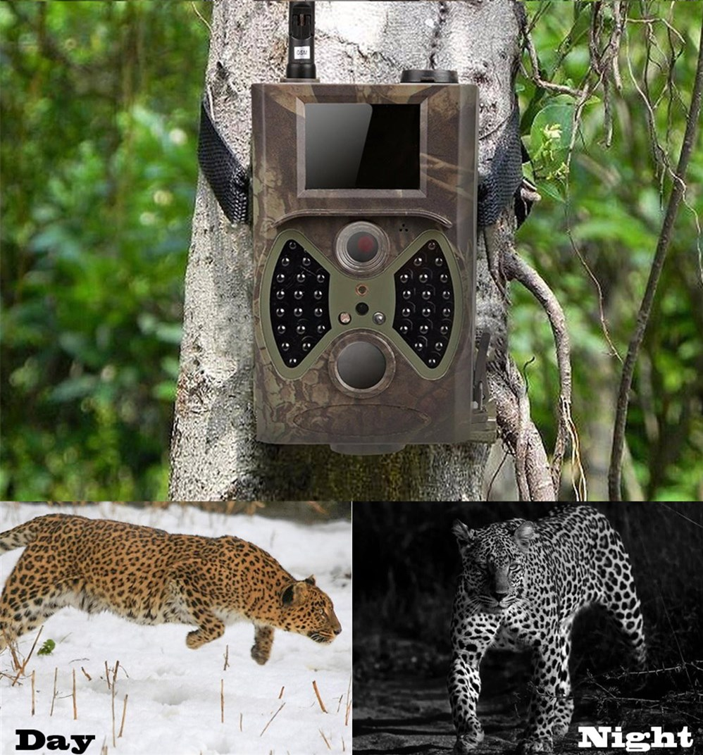 Pièges Photo 12MP Email MMS GSM 1080 P pièges de chasse à Vision nocturne HC300M caméra de chasse sauvage caméra de piste caméra de chasse de la faune - 6