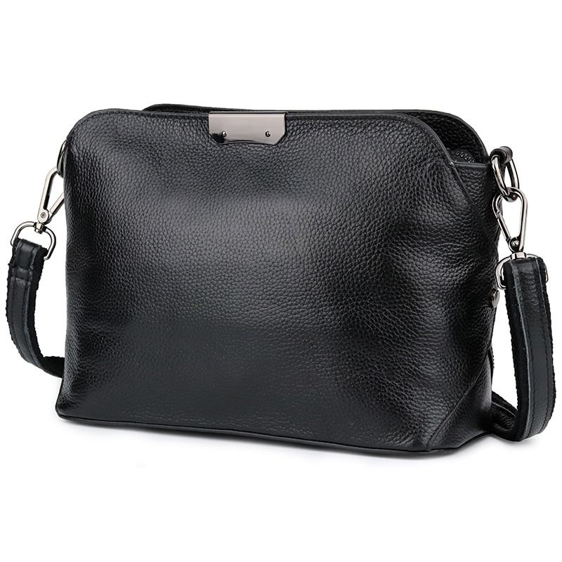 New Arrivals Genuine Leather Feminine Handbags Brand Designer Large Capacity Messenger Bag Bolsas Feminina 2018 Hot