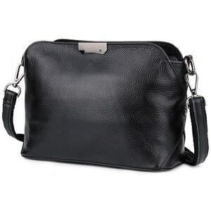 New Arrivals Genuine Leather Feminine Handbags Brand Designer Large Capacity Messenger Bag Bolsas Feminina 2020 Hot Women's Bags(China)