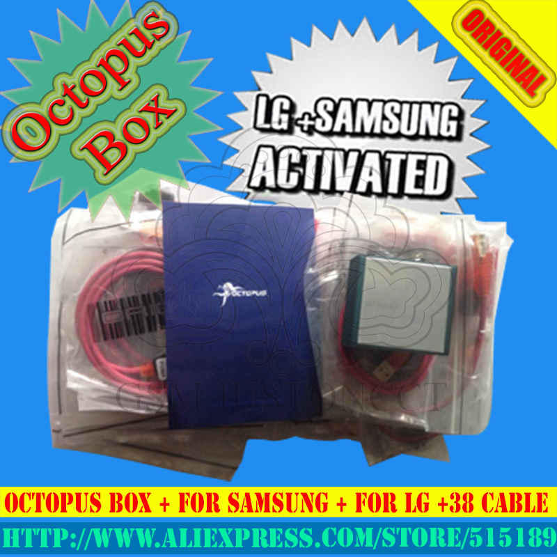 gsmjustoncct Top Selling Full activated Octopus Box + 38Cables for LG and for Samsung Unlock Flash & Repair+Free Shippinggsmjustoncct Top Selling Full activated Octopus Box + 38Cables for LG and for Samsung Unlock Flash & Repair+Free Shipping