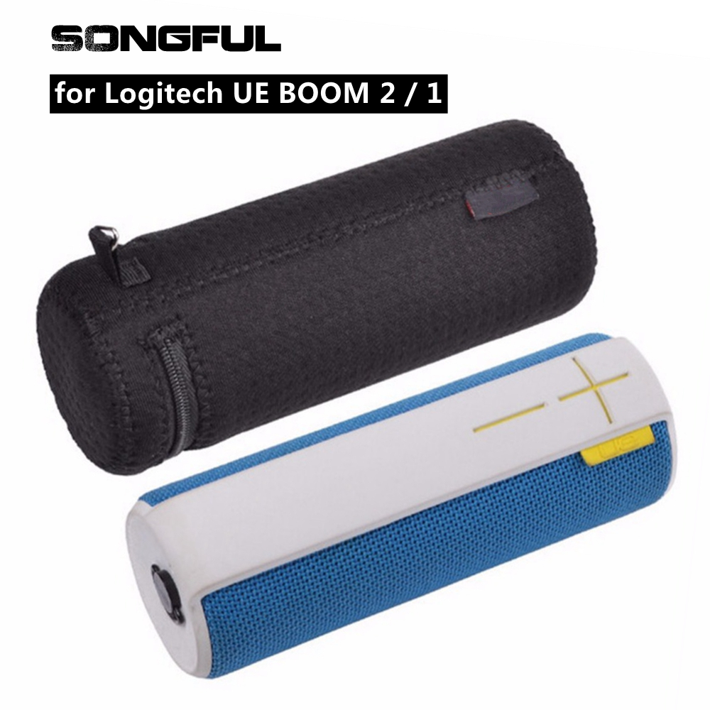 Column Speaker Case Cover for Logitech UE BOOM 2 1 Wireless Bluetooth Speakers Pouch Storage Box Carry Soft Bag Protective Bags